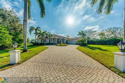 Davie Single Family Home For Sale: 2250 SW 119th Ter