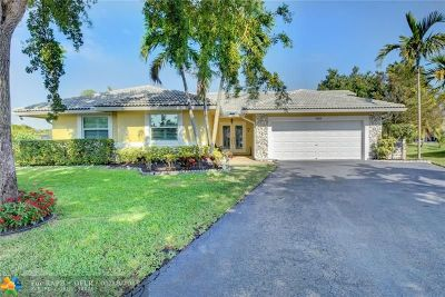 Coral Springs Single Family Home For Sale: 1535 NW 109th Ter