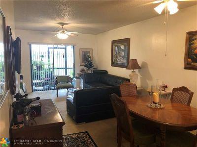 Sunrise Condo/Townhouse For Sale: 10402 Sunrise Lakes Blvd #109