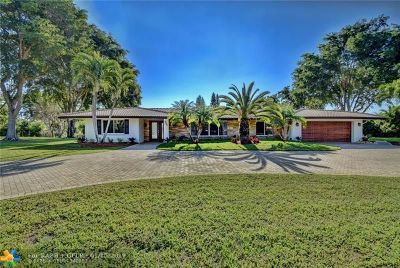 Coral Springs Single Family Home For Sale: 4171 NW 101st Dr