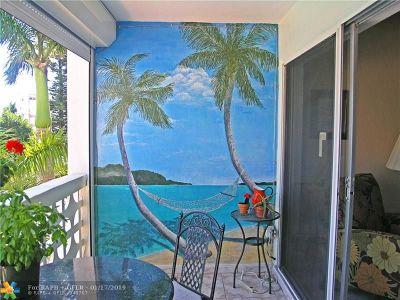 Hallandale Condo/Townhouse For Sale: 3133 S Ocean Dr #316