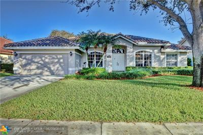 Coconut Creek Single Family Home For Sale: 3959 NW 57th St