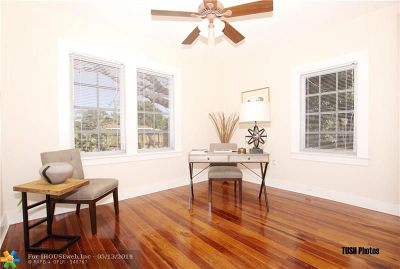 Wilton Manors Single Family Home Backup Contract-Call LA: 300 NW 25th Street