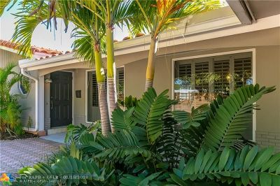 Fort Lauderdale Single Family Home For Sale: 2120 NE 62nd St