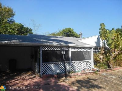Fort Lauderdale Single Family Home For Sale: 907 SW 17th St