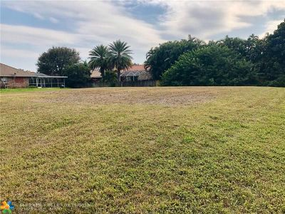Plantation Residential Lots & Land For Sale: 11930 NW 25th St