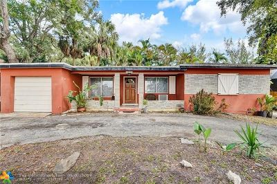 Fort Lauderdale FL Single Family Home For Sale: $449,000