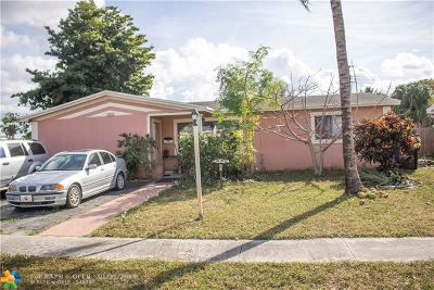 Lauderdale Lakes Single Family Home For Sale: 3132 NW 43rd St