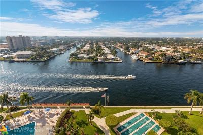 Fort Lauderdale Condo/Townhouse For Sale: 3200 NE 36th St #1403