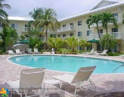 Fort Lauderdale FL Condo/Townhouse For Sale: $192,000