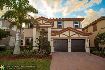 Parkland Single Family Home For Sale: 8481 Miralago Way