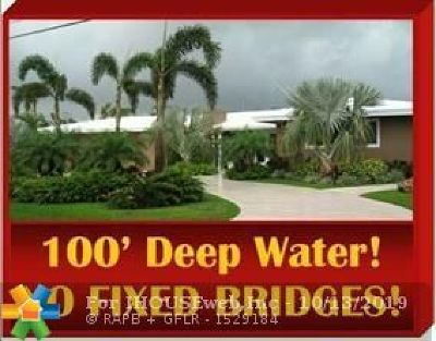 Fort Lauderdale FL Single Family Home For Sale: $1,390,000