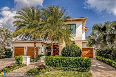 Fort Lauderdale, Lauderdale By The Sea, Lighthouse Point, Oakland Park, Pompano Beach Single Family Home For Sale: 616 Solar Isle Dr
