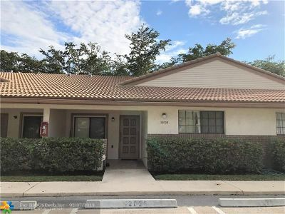 Coral Springs Condo/Townhouse For Sale: 12028 Royal Palm Blvd #3-F