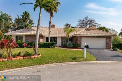 Coral Springs FL Single Family Home For Sale: $499,990