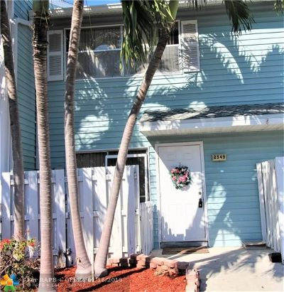 Pompano Beach Condo/Townhouse Backup Contract-Call LA: 2549 NE 15th St #2549