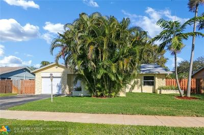 Fort Lauderdale FL Single Family Home For Sale: $325,000