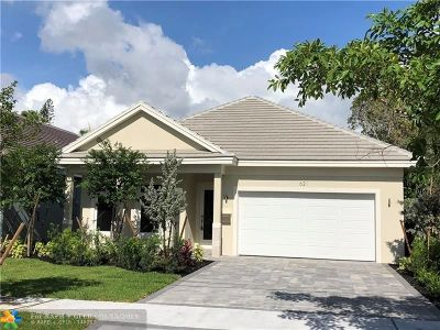 Fort Lauderdale FL Single Family Home For Sale: $969,000