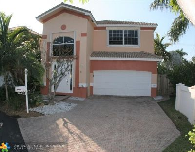 Hollywood Single Family Home For Sale: 1280 Johnson Ct