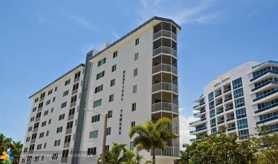 Fort Lauderdale Condo/Townhouse For Sale: 720 Bayshore Dr #203