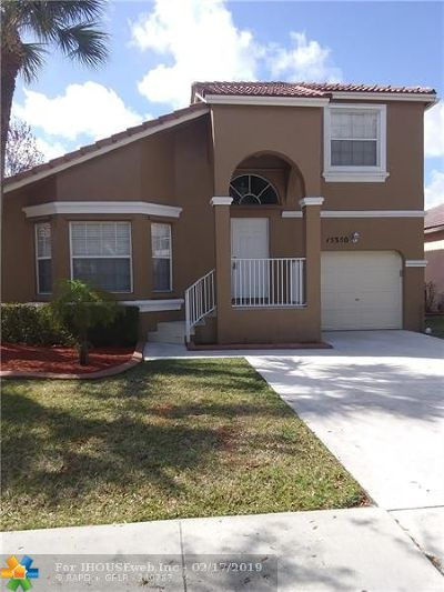 Broward County, Collier County, Lee County, Palm Beach County Rental For Rent: 15350 NW 6th Court