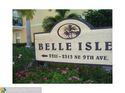 Wilton Manors Rental For Rent: 2299 NE 9th Ave