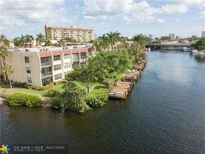 Pompano Beach Condo/Townhouse For Sale: 777 S Federal Hwy #108-F