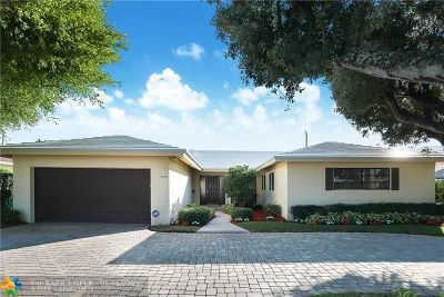 Fort Lauderdale Single Family Home For Sale: 4780 NE 28th Ave