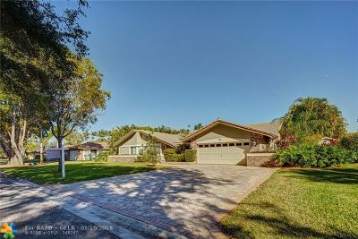 Coral Springs FL Single Family Home For Sale: $465,000