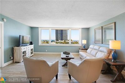 Fort Lauderdale Condo/Townhouse For Sale: 711 N Birch Rd #604