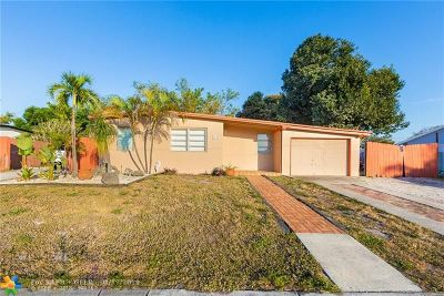 Pompano Beach FL Single Family Home For Sale: $199,900