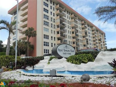 Hillsboro Beach Condo/Townhouse For Sale: 1149 Hillsboro Mile #305