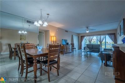Pompano Beach FL Condo/Townhouse For Sale: $144,500