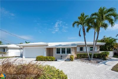 Pompano Beach FL Single Family Home For Sale: $591,000