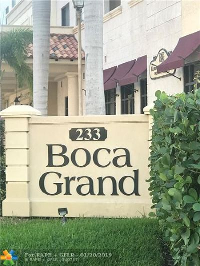 Boca Raton Condo/Townhouse For Sale: 233 S Federal Hwy #308
