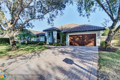 Coral Springs Single Family Home Backup Contract-Call LA: 9731 NW 51st St