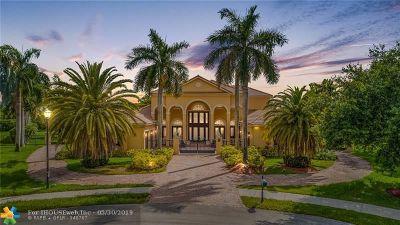 Davie Single Family Home For Sale: 12701 Kapok Ln