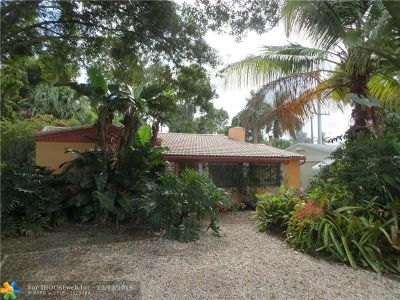 Fort Lauderdale Single Family Home For Sale: 838 SW 9th St
