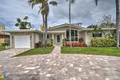 Fort Lauderdale, Lauderdale By The Sea, Lighthouse Point, Oakland Park, Pompano Beach Single Family Home For Sale: 1360 E Terra Mar Dr