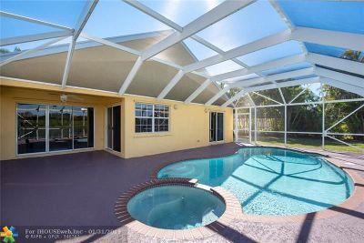 Weston Single Family Home Backup Contract-Call LA: 307 Bermuda Springs Dr