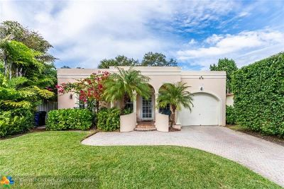 Fort Lauderdale Single Family Home For Sale: 1109 SW 18th Ct