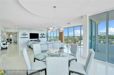 Fort Lauderdale Condo/Townhouse For Sale: 45 Hendricks Isle #PH F