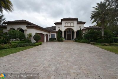 Davie Single Family Home For Sale: 15190 SW 16th St
