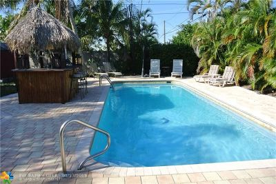 Pompano Beach Single Family Home For Sale: 4221 NE 11th Ter