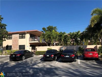 Fort Lauderdale Condo/Townhouse For Sale: 2451 NE 49th St #101