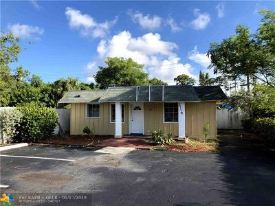 Fort Lauderdale Single Family Home For Sale: 2719 NW 6th St