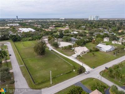 Plantation Residential Lots & Land For Sale: 1751 NW 118th Ave