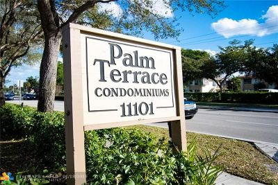 Coral Springs FL Condo/Townhouse For Sale: $128,000
