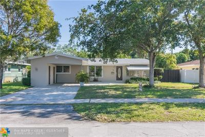 Wilton Manors Single Family Home For Sale: 2808 NW 8th Ave
