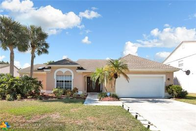 Boca Raton Single Family Home For Sale: 22167 Appleton Dr